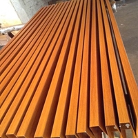 太原氟碳鋁方通隔斷 吊頂鋁方通供應商