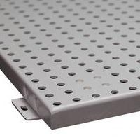 ? 冲孔铝天花    氟碳白色冲孔铝单板