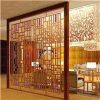 鋁合金型材制作仿古花格窗罩廠家