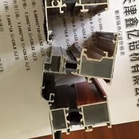 2018高端断桥隔热铝合金门窗型材生产厂家