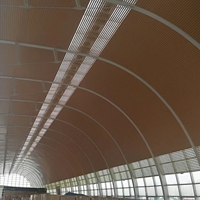 馬來西亞木氏集團廠房吊頂G型鋁條扣