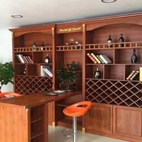 简约风格家具材料 仿实木酒柜浴室柜