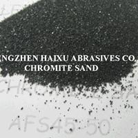 铸造耐火级铬矿砂引流砂铬铁矿砂