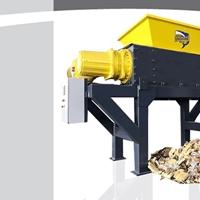 双轴大型大件垃圾破碎机 欧美品质