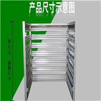 供应杭州白色外墙铝合金百叶空调罩