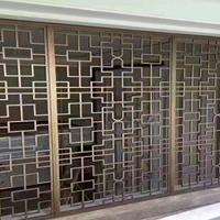 洛陽木紋鋁窗花裝飾 型材鋁窗花廠家