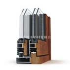 鄭州生產加工鋁木復合門窗型材