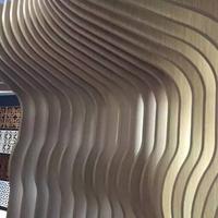 韶關U型鋁方通裝飾價格實惠 弧形鋁方通裝潢