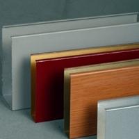 清远造型铝方通幕墙厂家 艺术铝方通幕墙