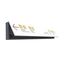 标识灯箱铝型材 铝合金导向标识牌框