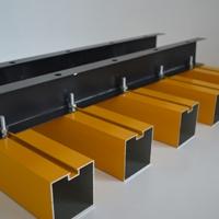 木纹吊顶铝方通 厂家定制