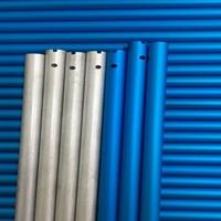 6063彩色铝管 阳极氧化铝管