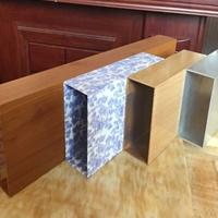 荆州3D木纹铝方通吊顶  型材铝方通装潢