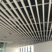 铝天花铝方通格栅学校吊顶环保铝材厂家直销