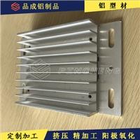 高密齿太阳花铝合金型材 热门功放散热器