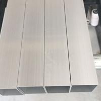 环保5052铝方通银白氧化铝方管厂家直销