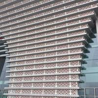 四川雅安冲孔镂空铝板外墙