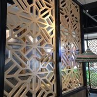 广东德普龙厂家定制木纹花式铝窗花