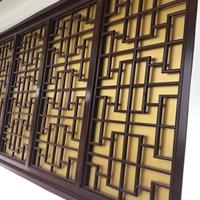 广东德普龙厂家定制木纹铝合金仿古窗