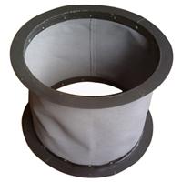 供应硅酸钛金不燃A级防火软管