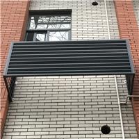 铝板冲孔镂空空调外机保护罩简介