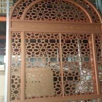 福建莆田木纹铝窗花 防护窗 防护栏
