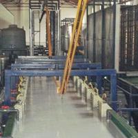 自动静电喷涂生产线,静电喷塑设备