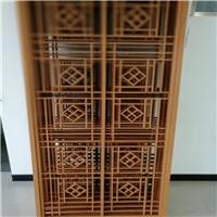 福建三明中式复古艺术铝窗花 木纹铝窗花