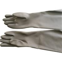 耐酸碱橡胶喷砂手套 乳胶工业手套
