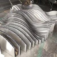 弧形铝方通_室内外装饰铝方通厂家直销