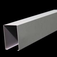木纹铝方通型材铝方通学校弧形铝方通吊顶