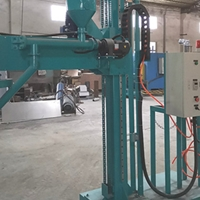 移动式喷粉装置除气机 喷粉式除渣机