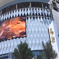 朝阳 弧形铝单板 双曲铝单板幕墙供应商