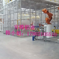 工作台铝型材弧焊房机器人打磨房、除尘房