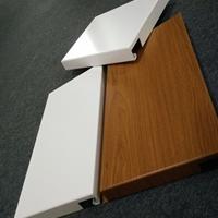 本田汽车4S店木纹和白色装饰铝单板吊顶厂家