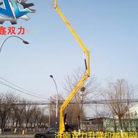 14米曲臂升降机 双峰县电动升降车价钱