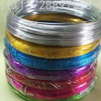 國標5052彩色氧化鋁線價格 6082鋁線手工DIY