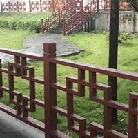 古建公园楼梯西字格铝窗花_护栏铝花格出售