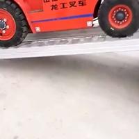 叉车上下车铝爬梯铲车铝爬梯铝合金爬梯