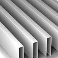 辽宁U型铝方通 白色铝方通 木纹铝方通