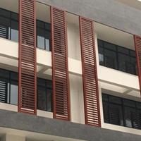 木纹铝合金窗花_中式木纹铝窗花厂家