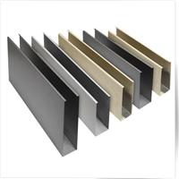 浙江铝方通厂家 白色铝方通 木纹铝方通