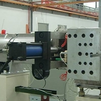 新型PP建筑模板生产线_中空建筑模板设备