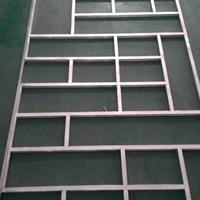 广州铝窗花生产厂家_中式风格木纹窗花