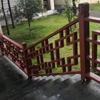 中式木纹铝窗花_木纹铝窗花_广东铝窗花