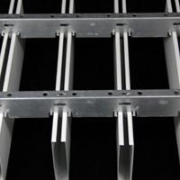 50底100高0.8厚白色铝方通定做厂家