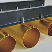 供应地铁站O型50毫米直径铝圆管吊顶天花