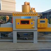 铝模板喷砂机直销 铝模板表面处理设备
