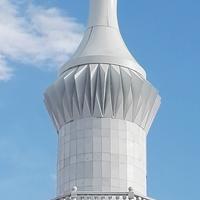风景区塔式建筑幕墙装饰铝单板 氟碳铝单板