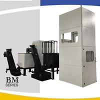 卧式铝屑压块机全自动压饼生产回收系统
